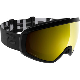 Flaxta Continuous Goggles black-gold mirror